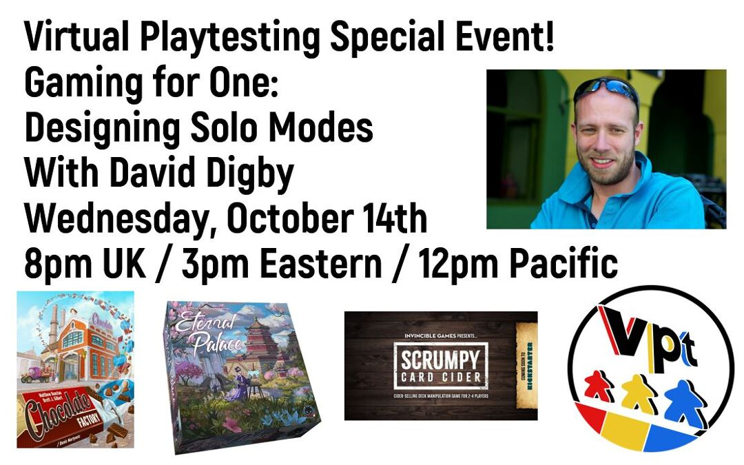 Gaming for One: Designing Solo Modes with David Digby