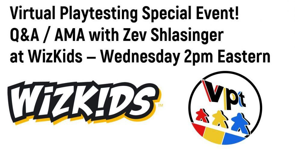 Q&A / AMA with Zev Shlasinger of WizKids